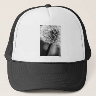 Dandelion Monochrome Trucker Hat