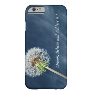 Dandelion-Motivational print iPhone 6/6s case Barely There iPhone 6 Case