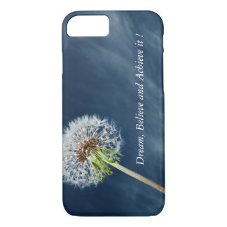 Dandelion-Motivational print iPhone 7 case