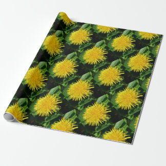 Dandelion Nature, Photo 1.0 Wrapping Paper