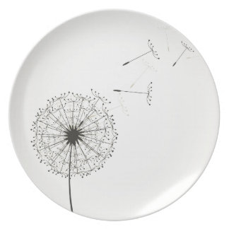 Dandelion Party Plates