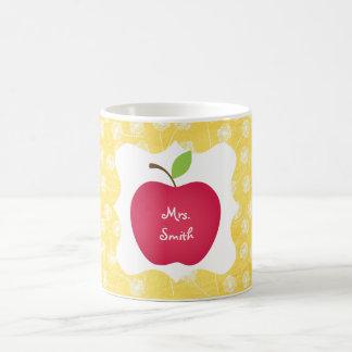 Dandelion- Red Apple Teacher's Coffee Mug