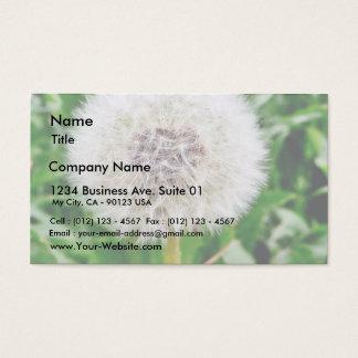 Dandelion Seed Business Card