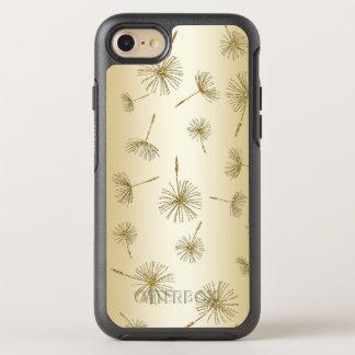 Dandelion Seeds Gold Fairy Glitter Wish Flower OtterBox Symmetry iPhone 8/7 Case