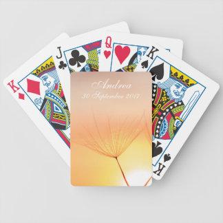 Dandelion Sunrise Bicycle Playing Cards