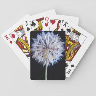 Dandelion (Taraxacum Officinale) Seed Head Playing Cards
