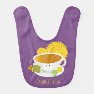 Dandelion Tea Cup Character | Baby Bib