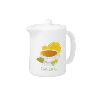 Dandelion Tea Cup Character | Teapot