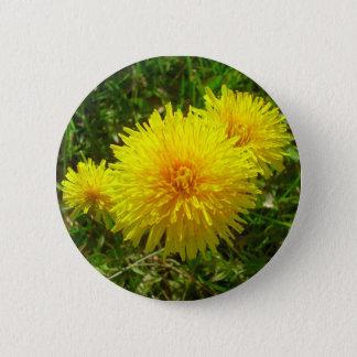 Dandelion Trio 2 Inch Round Button