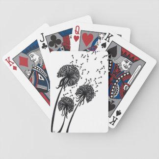 Dandelion Trio Playing Cards