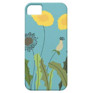 Dandelion, Turquoise iPhone 5 Cases