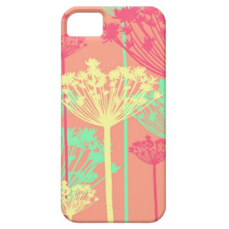 Dandelion wish flowers girly floral pattern iPhone 5 cover