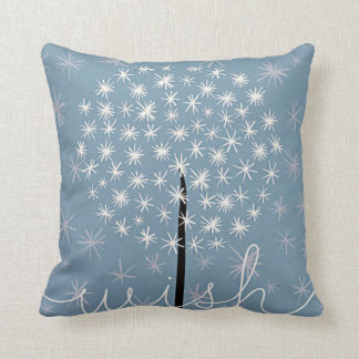Dandelion Wish throw pillow
