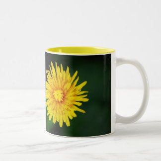 Dandelion With Anne Bradstreet Quote Ceramic Mug