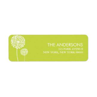 Dandelions Address Labels