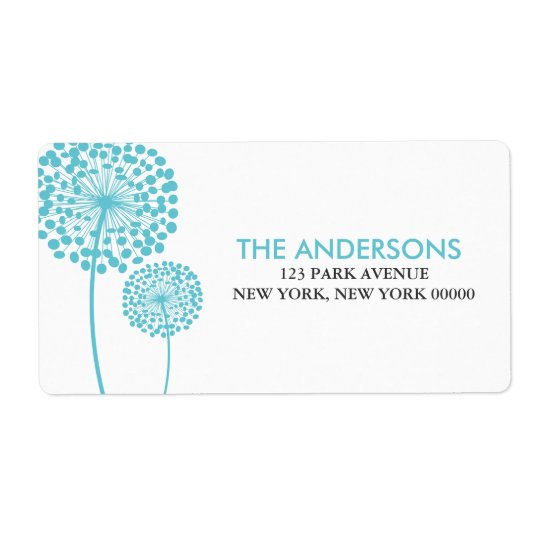Dandelions Address Labels