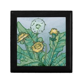Dandelions  Illustration Gift Box