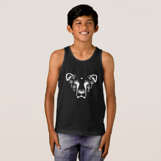 Dandi Lion Pocket (Black T) Tank Top