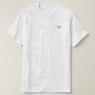 Dandi Lion Small Logo Pocket White Basic T T-Shirt