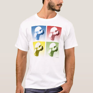 Dandie Dinmont Terrier Pop Art T-Shirt