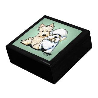 Dandie Scottie Terriers Gift Box