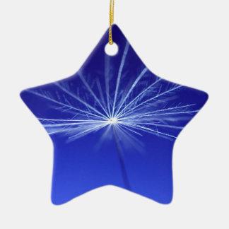 Dandilion Seed Ceramic Ornament