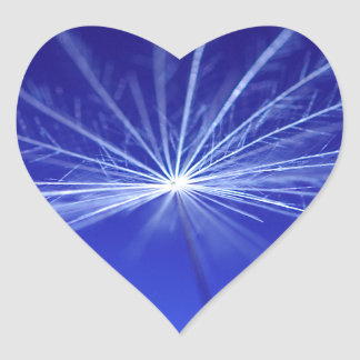 Dandilion Seed Heart Sticker