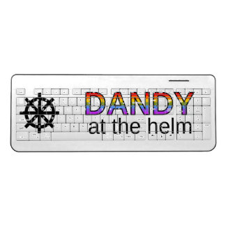 """""""DANDY at the helm"""" Keyboard"""