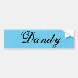 Dandy bumper sticker