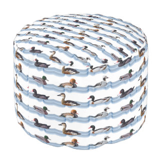 Dandy Ducks Pouf (choose colour)