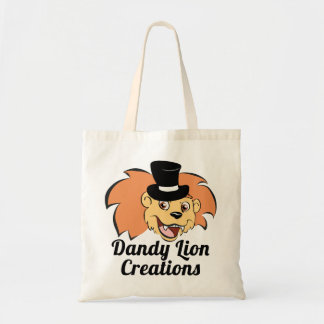 Dandy Lion Creations Logo Tote