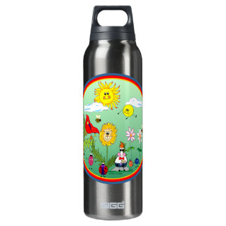 Dandy Lion & Friends Insulated Water Bottle
