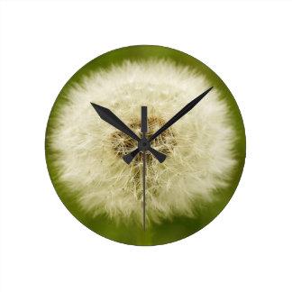 Dandy Lion Round Clock