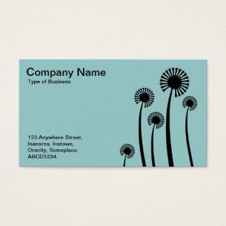 DandyLion Clocks - Alternating sides Business Card