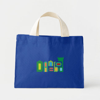 Danebod Colorful Green Logo Tote