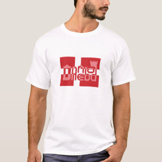 Danebod Danish Flag Logo Shirt