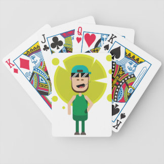 Danel boss bicycle playing cards