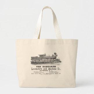 Danforth Locomotive and Machine Company 1852 Jumbo Tote Bag