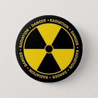 Danger 2 Inch Round Button