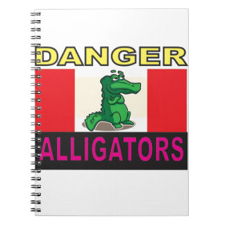 danger aligators notebooks