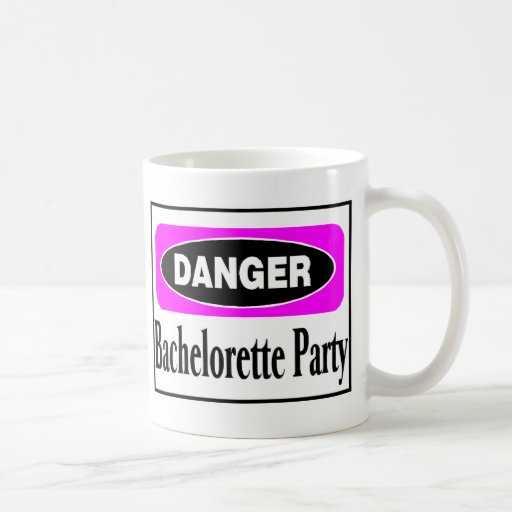 Danger Bachelorette Party Coffee Mug