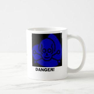 Danger, DANGER!, Contains Dihydrous MonoxideHar... Coffee Mug