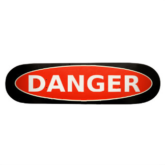 DANGER de patineur ! Skateboards Personnalisables