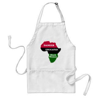 DANGER - Educated Black Woman Apron