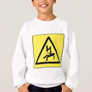 Danger Electricity Sweatshirt