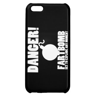 Danger!  Fartbomb to Explode iPhone 5C Cover