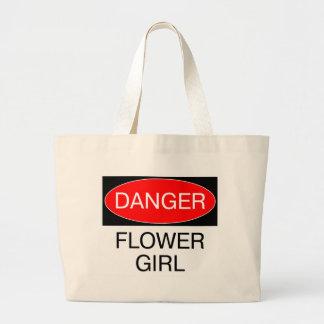 Danger - Flower Girl Funny Wedding T-Shirt Mug Hat Bag