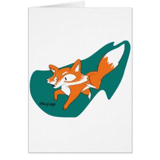 Danger Fox Card
