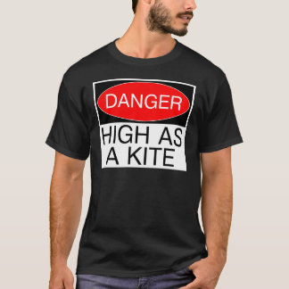 Danger - High As A Kite Funny Safety T-Shirt Mug