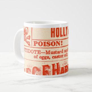 DANGER! Holly (Ilex Aquifolium) Holiday Jumbo Mug